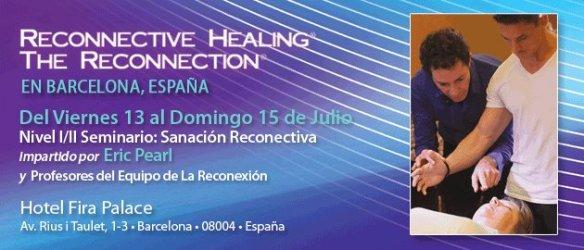 Seminario de La Reconexion en Barcelona 2012 Eric Pearl