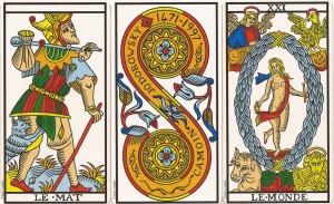 Copyright Jodorowsky y Camoin Tarot de Marsella Restaurado
