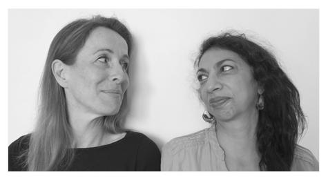 Paulina Jade Doniz y Marianne Costa