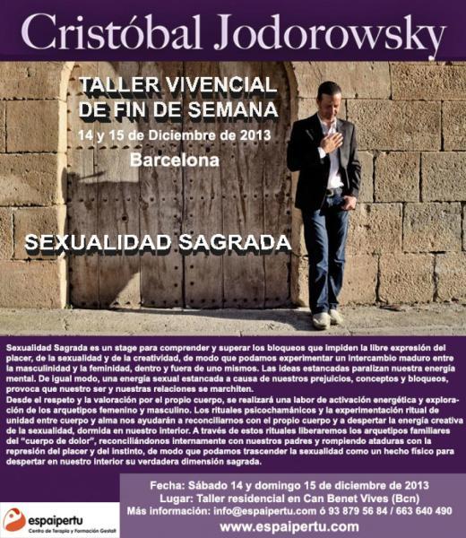 taller residencial Jodorowsky sexualidad sagrada