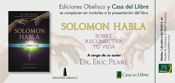 eric pearl Solomon habla la casa del llibre
