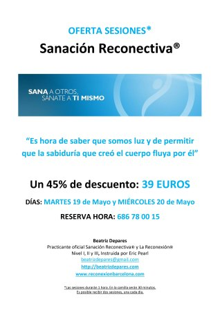 Oferta SANACION MAYO 2015