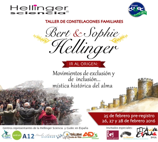 Bert y Sophie Hellinger España