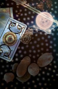 As de oros Tarot Restaurado Marsella